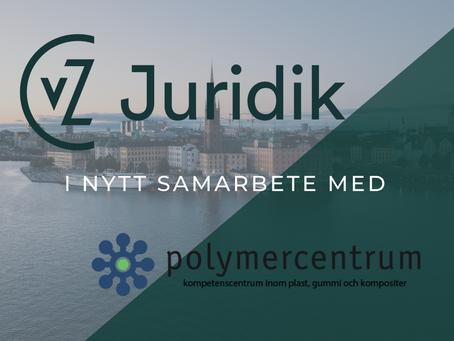Polymercentrum och CvZ Juridik inleder samarbete
