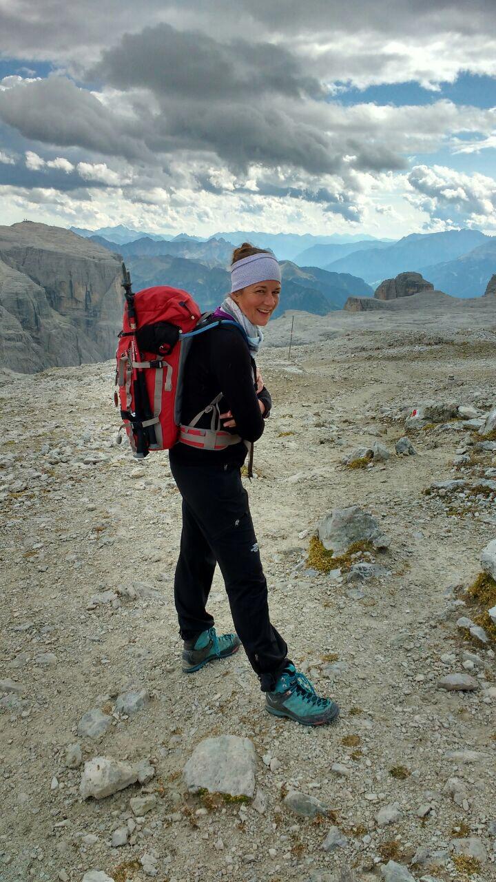 Carolin Auner Bergwanderführern