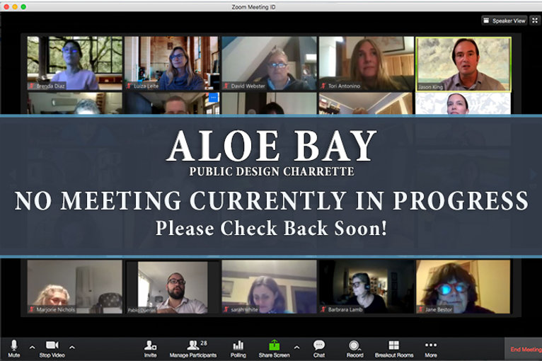 Aloe- Bay no meeting currently in progre