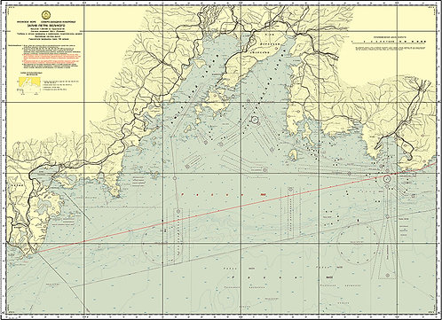 Карта Залива Петра Великого