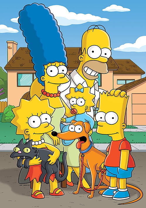 Симпсоны, плакат 4
