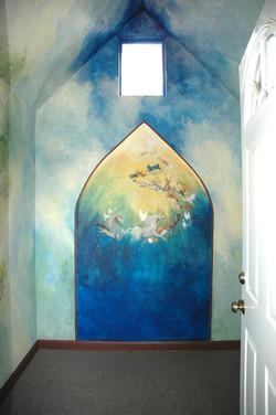 Novato Pet Chapel 1 Mural