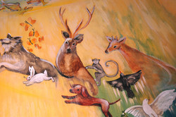 Novato Pet Chapel 3 Mural