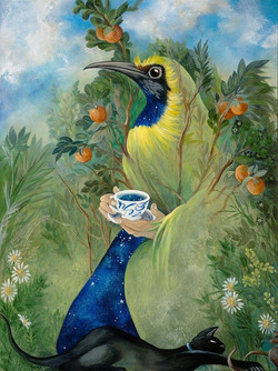 Shelley Masters - Hilde Takes Time for Tea