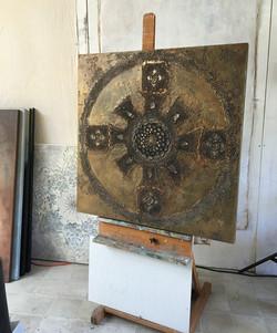 METAL MANDALA in studio