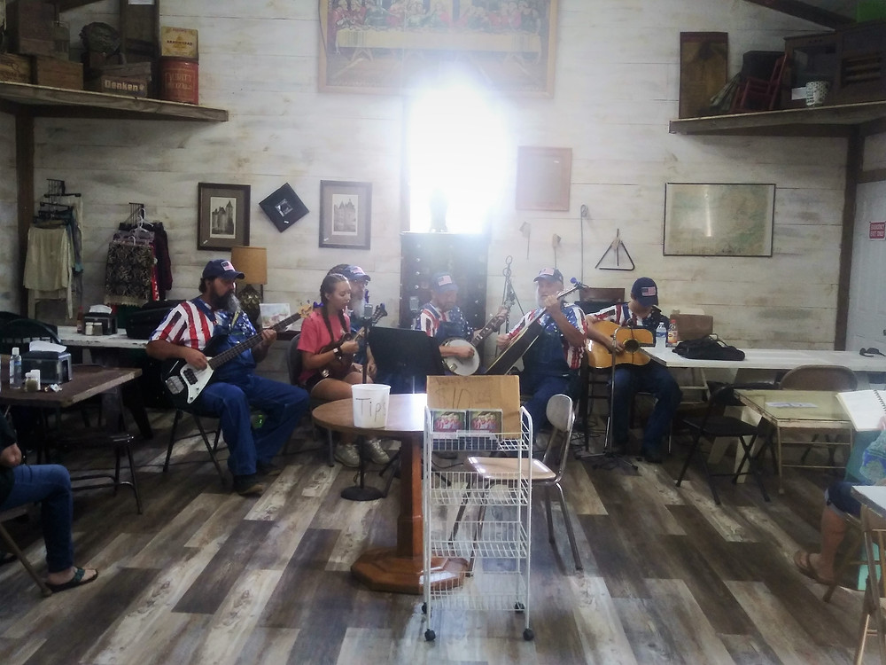 Victory Bluegrass band and Kaylah Faith Chambers here last Saturday