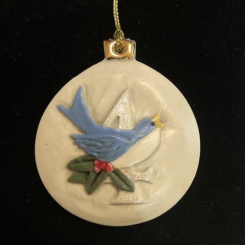 Twelve Days of Christmas Ornament - Four Calling Birds
