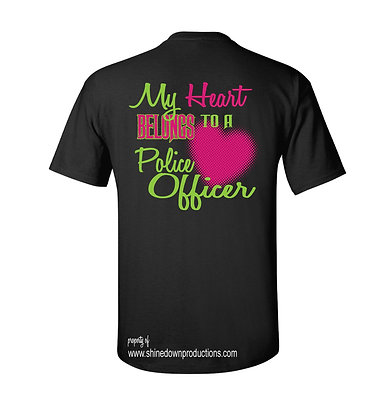 My Heart to A Police Officer