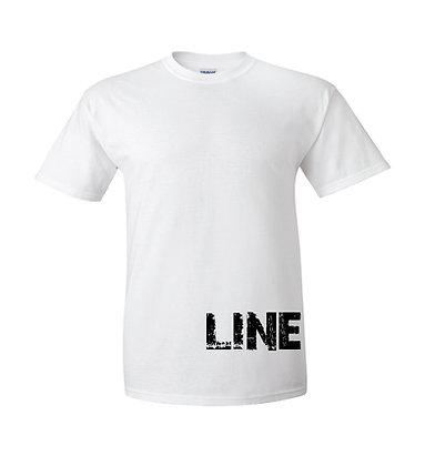 Line Life White Tee
