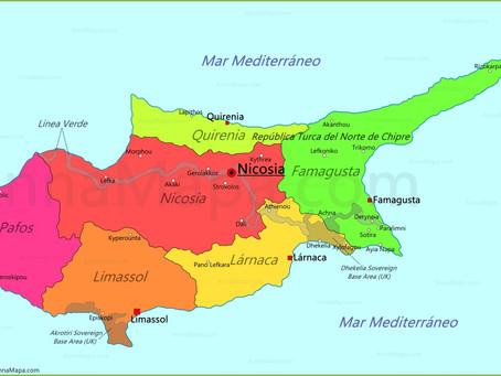 Chipre, ponto estratégico do Mediterrâneo