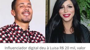 Carlinhos Maia ajuda Luisa Marilac, cujos seios estão necrosando