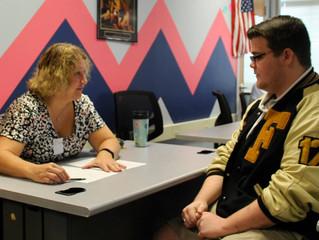 Rotarians Conduct Mock Interviews at Fulton High School