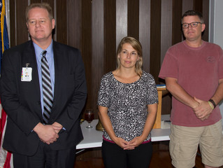 Rotary Club of Fulton Inducts Three New Members