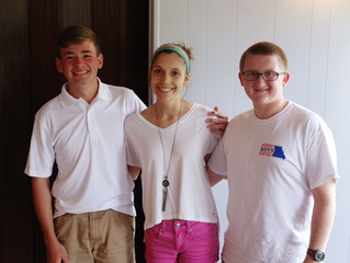 Students Tell of Their Experiences at RYLA and Boys and Girls State.