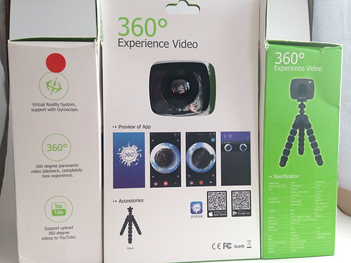 Virtual Reality full 360 sport Camera