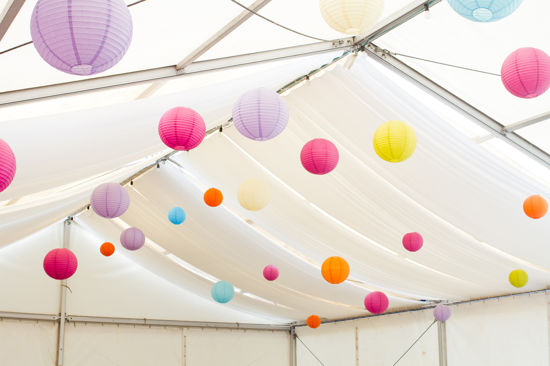 Beautiful lanterns make a Statement!