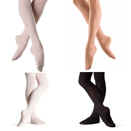 Kids Bloch Footed Tights