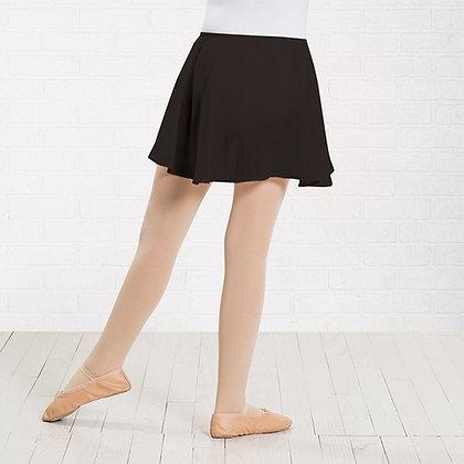 Mock Wrap Skirt