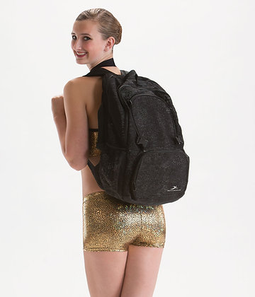 Black Sparkle Backpack