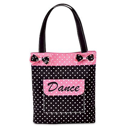 DANCIN' DOTS DANCE TOTE