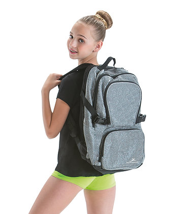 Silver Sparkle Backpack