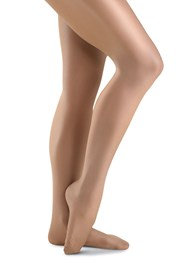 Danskin Ladies Ultra Shimmery Tights Classic Light