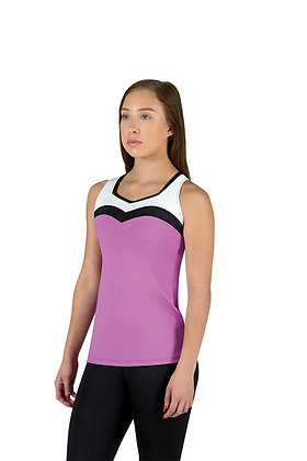 Sweetheart Banded Extended Length Tank Top