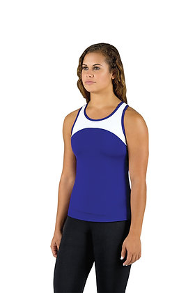 2-Tone Bound Racerback Extended Top