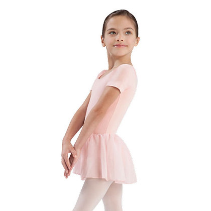 Kids Cap Sleeve Skirted Leo