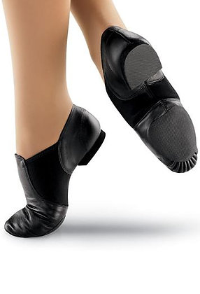 EJ2 Capezio Jazz Shoe Black/Tan