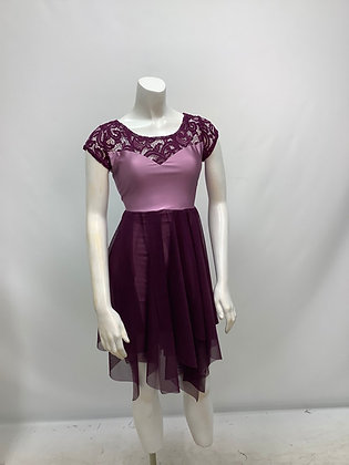 99334 Sweetheart dress cap sleeves