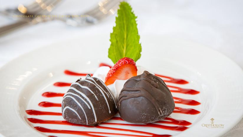 Chocolate Covered Ice Cream Bon Bons