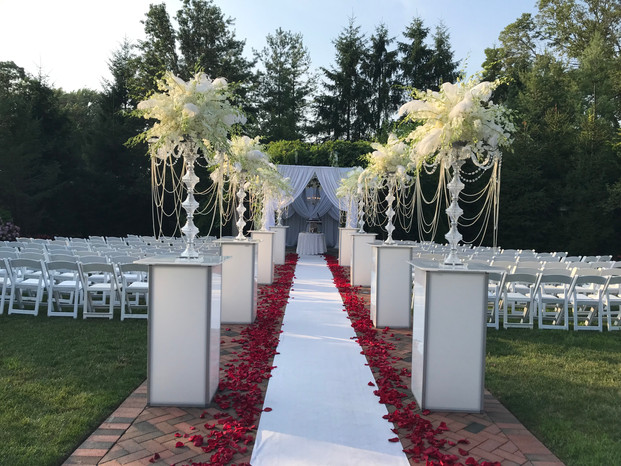 Outdoors Ceremony