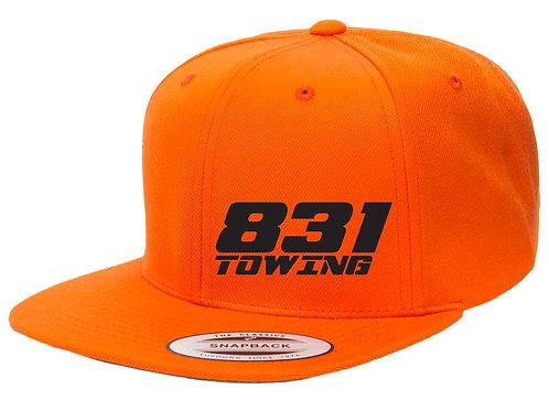 Orange Snapback Hat