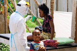 Ebola patient in Kenema