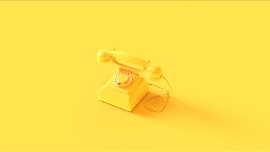 yellow single phone -858008324.jpg