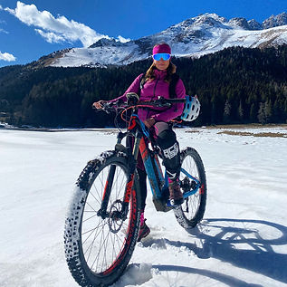 eBike and Snow