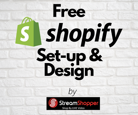 Free Shopify Set-up & Design