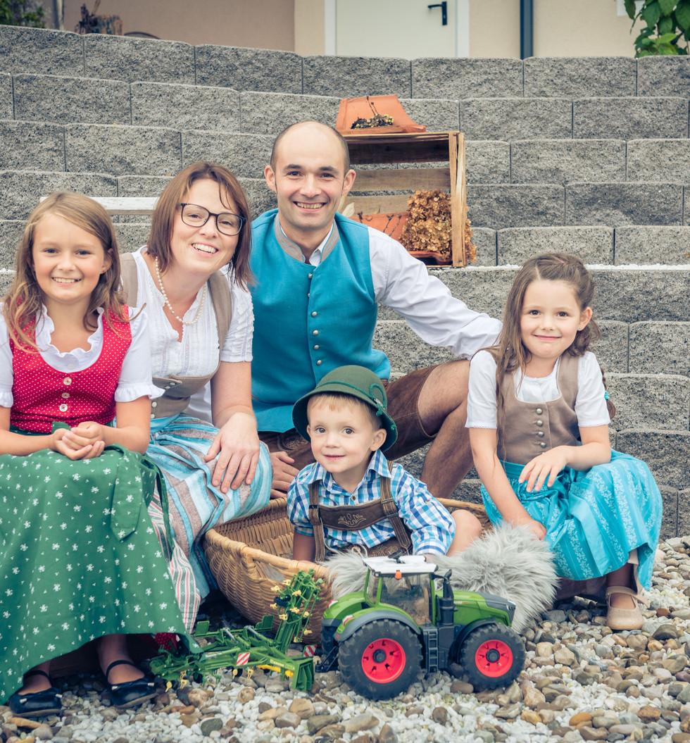 FAMILIENSHOOTING Fam. Zechmann Familienfotografin Karin Asen