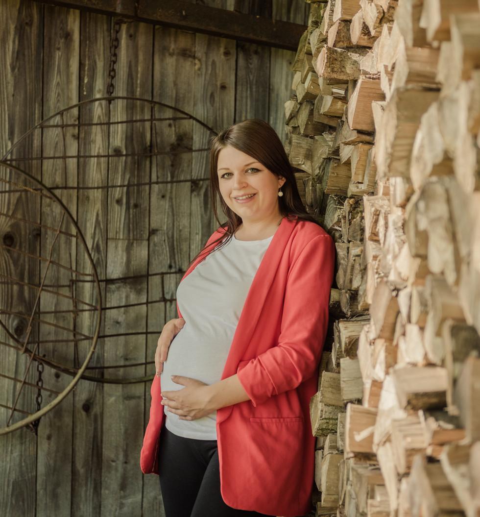 BABYBAUCHSHOOTING Carina in Obertrum Fotografin Karin Asen