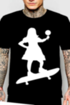 hurry up skate logo  T SHIRT.jpg