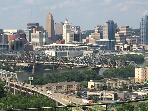 Brent Spence Bridge in Cincinnati, OH