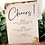 Thumbnail: Gold Leaf Reception Signs