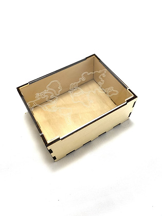 World Traveler Trinket Box