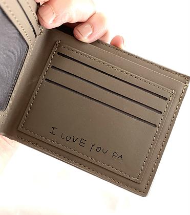 Custom Engraved Wallet