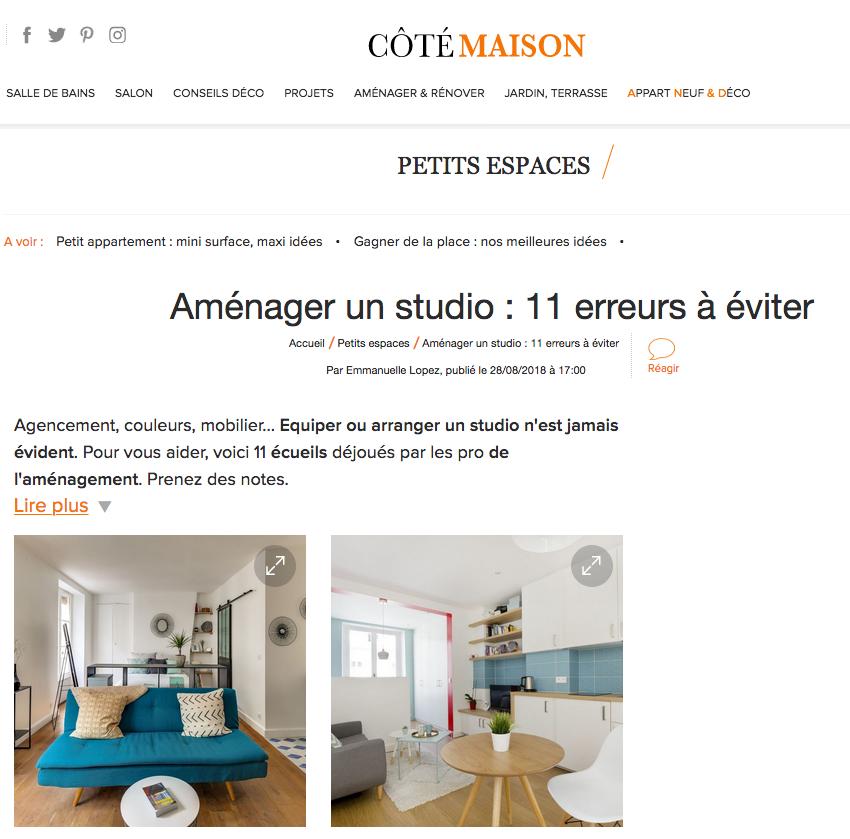 Côté Maison - 28/08/18