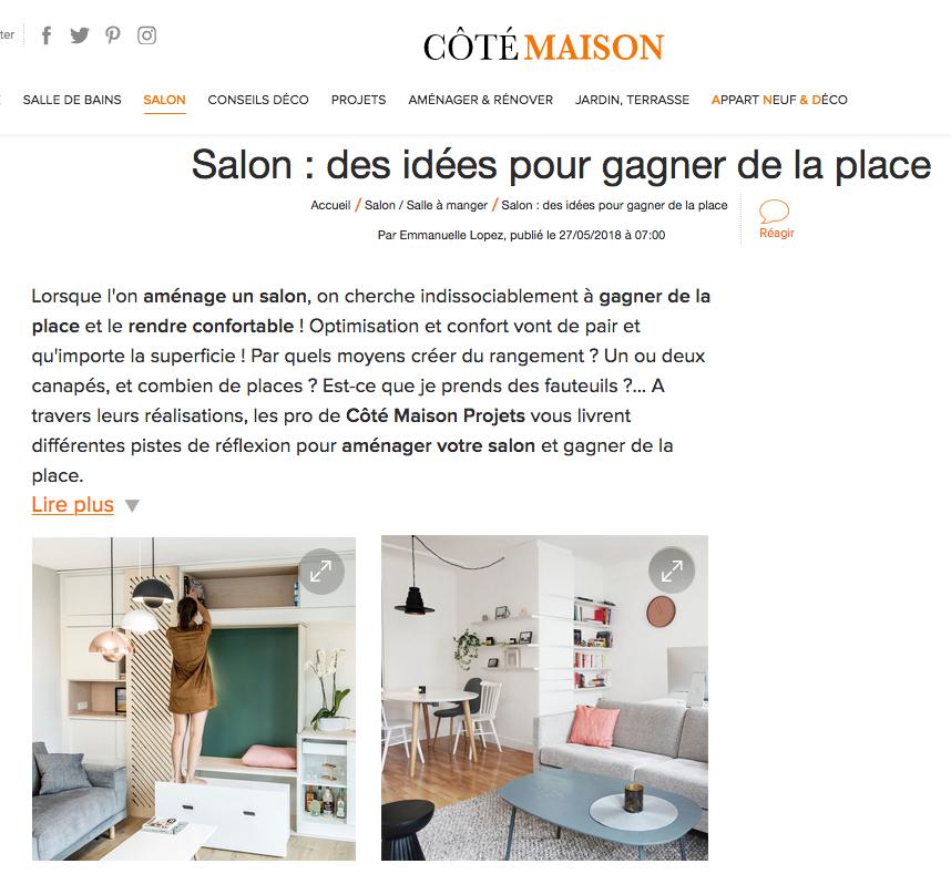 Côté Maison - 27/05/18