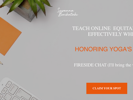 Teaching Online Strategically, Equitably and Effectively - Info and Webinar
