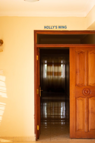 Wing named after Holly at a Guest House in town
