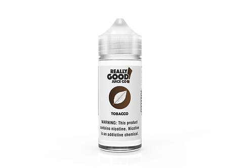 TOBACCO - REALLY GOOD JUICE CO.